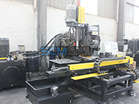 TPPRD103/TPPRD104 CNC Hydraulic Punching, Drlling & Marking Machine for Plates