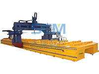 TBD Series Gantry Movable CNC Drilling Machine